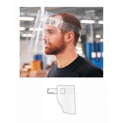 Pack 25 Protectores Faciales - Modelo 2 - Vinilos y Serigrafía