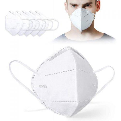 Pack 5 Máscaras Protectora Respiratoria FFP2 - tipo KN95 - PROSAFETY - Vinilos y Serigrafía