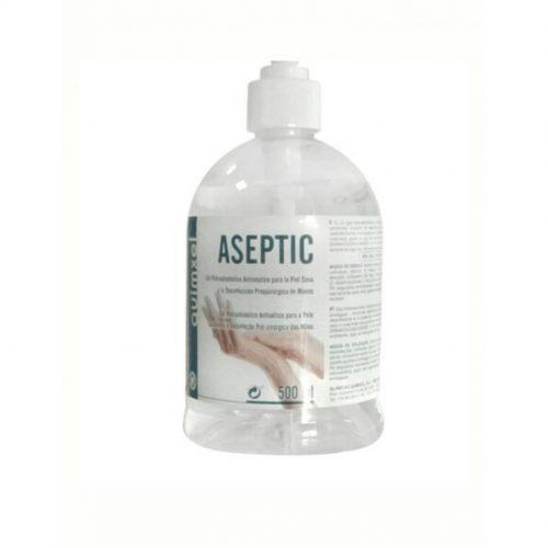 Gel hidroalcohólico Quimxel ASEPTIC - 500 ml - Vinilos y Serigrafía