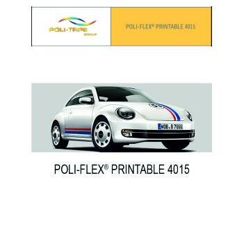 Poli-flex 4015 Blanco Satinado - Ancho 152 cm