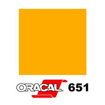 020 Amarillo Oro 651 - Ancho 63 cm - Vinilos y Serigrafía