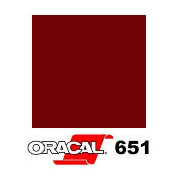 026 Rojo Púrpura 651 - Ancho 126 cm - Vinilos y Serigrafía