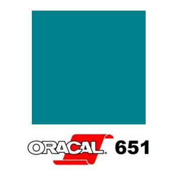 066 Azul Turquesa 651 - Ancho 126 cm - Vinilos y Serigrafía