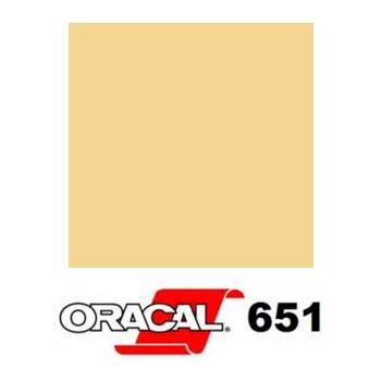 023 Crema 651 - Ancho 63 cm - Vinilos y Serigrafía