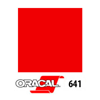 031 Rojo 641 - Ancho 126 cm - Vinilos y Serigrafía