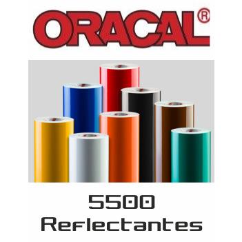 020 Amarillo 5500 Reflect. - Ancho 122 cm - Vinilos y Serigrafía