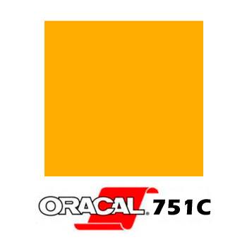 020 Amarillo Dorado 751C - Ancho 126 cm - Vinilos y Serigrafía
